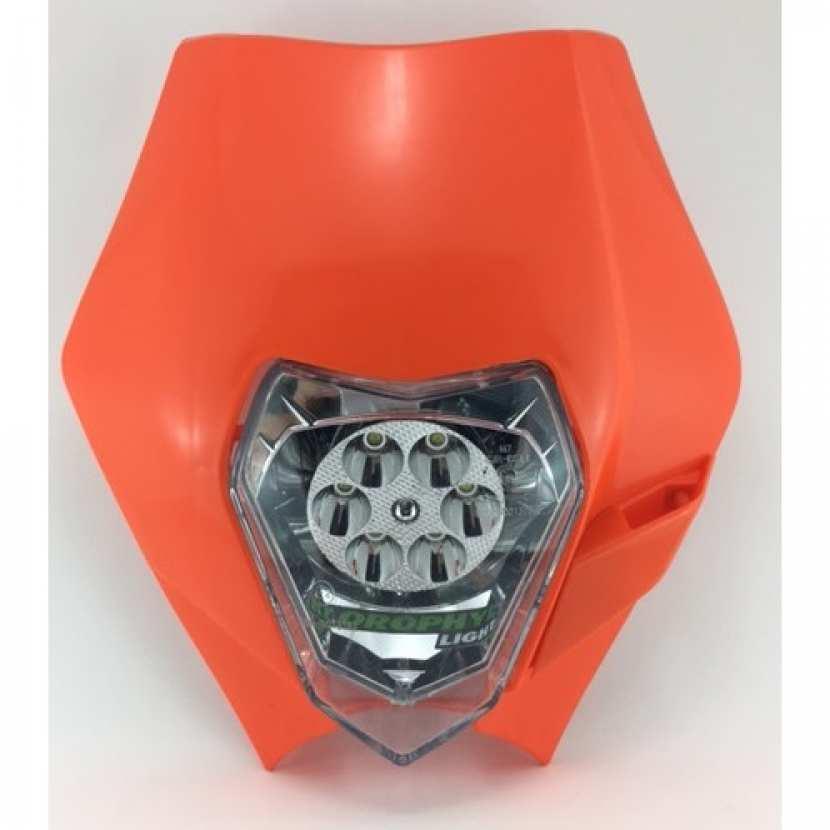 Plaque Phare Origin Leds Moto Ktm Exc Klorophyl Light